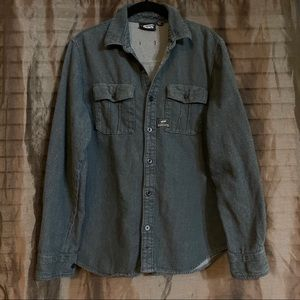 VANS GRAY cotton shirt